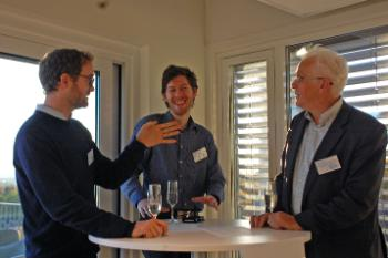PhD researcher Philipp Lausberg (Antwerp Centre for Institutions and Multilevel Politics), Mads Andreas Danielsen and Erik O. Eriksen (both ARENA Centre for European Studies)