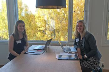 ARENA's Jorunn Skodje and Ragnhild Grønning ensured an excellent organisation of the conference